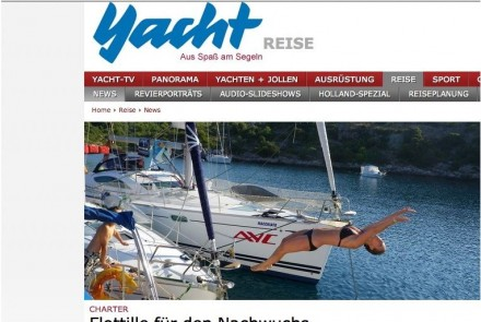 YACHT December 2011 Youth Sailing Camp